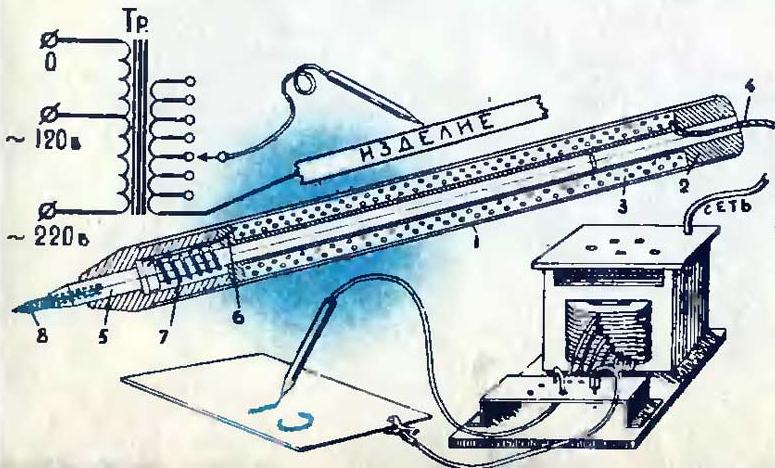 Электромаркер по металлу своими руками